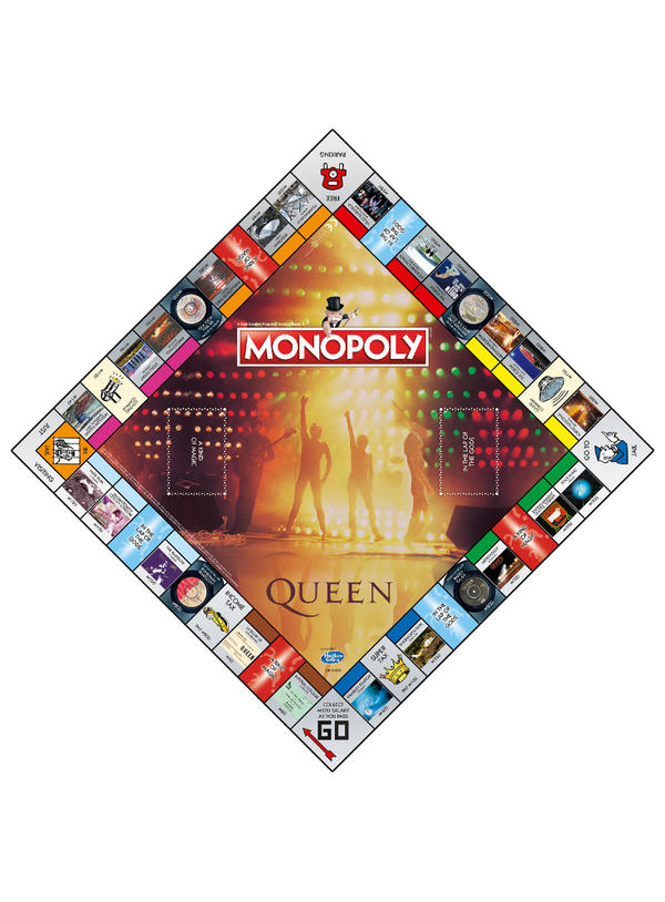 Image result for queen monopoly game