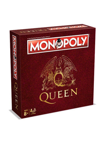 Queen Monopoly Board Game Preview