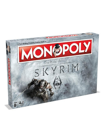 Skyrim Monopoly Board Game Preview