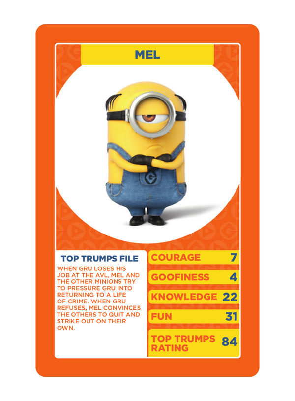 Despicable Me 3 Top Trumps card game - Winning Moves Shop