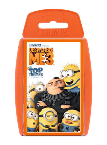Despicable Me 3 Top Trumps card game Preview
