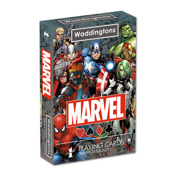 Marvel Universe Playing Cards Preview