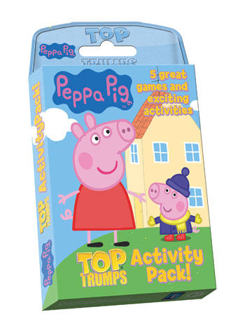 View Item Top Trumps - Peppa Pig Activity Pack