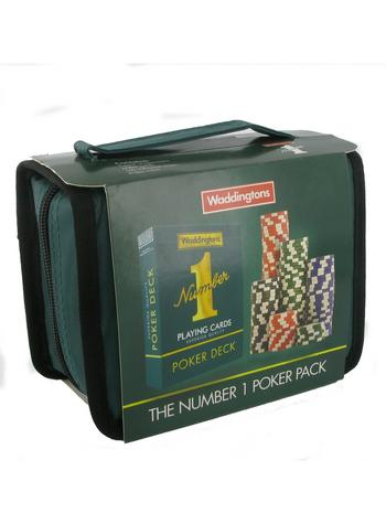 View Item Waddingtons Number 1 - Poker Travel Set