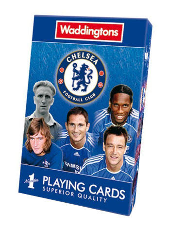 View Item Waddingtons No1 - Chelsea FC Playing Cards