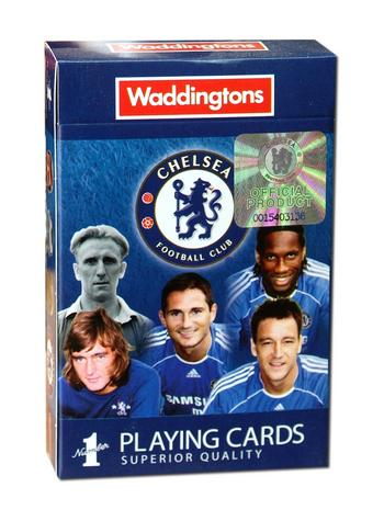 Chelsea FC Playing Cards Preview