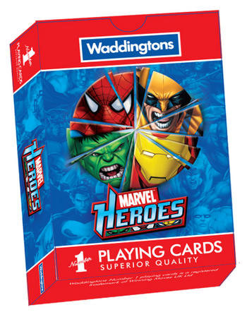 View Item Waddingtons No1 - Marvel Heroes Playing Cards