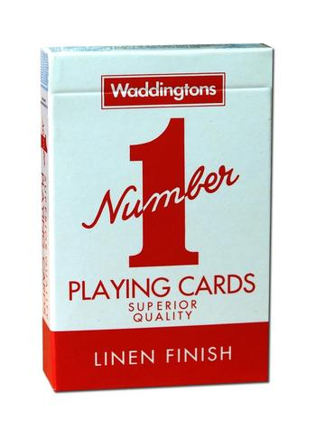 Waddingtons No1 Classic Playing Cards Red Preview