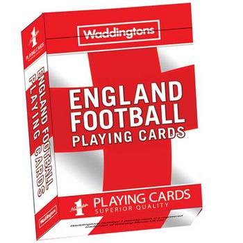 View Item Waddingtons No1 - England Football Playing Cards