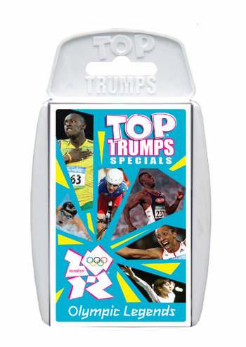 Top Trumps - Olympic Legends Preview