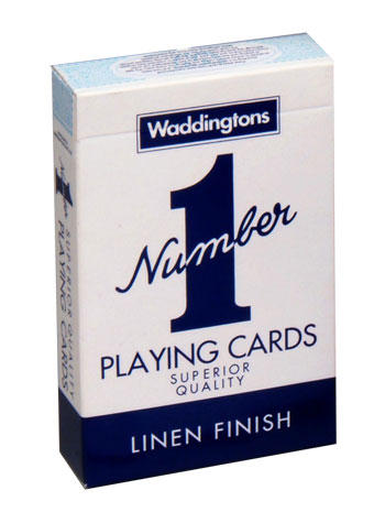 View Item Waddingtons Classic Playing Cards Blue