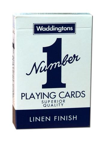 View Item Waddingtons No1 Classic Playing Cards Blue