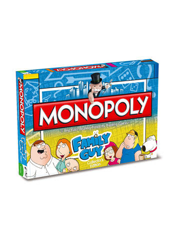 View Item Monopoly - Family Guy