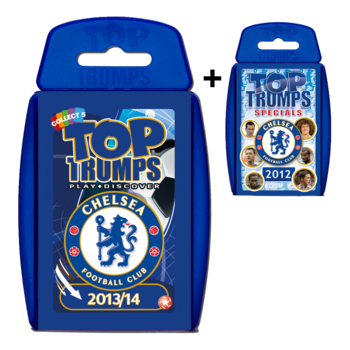 View Item Top Trumps Chelsea FC Duo Bundle No.2