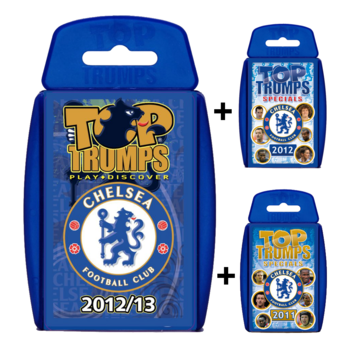 View Item Top Trumps Chelsea FC Triple Bundle No.2
