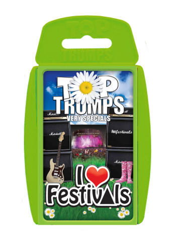 Top Trumps - I Love Festivals (Limited Edition) Preview