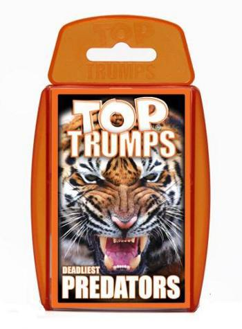 View Item Top Trumps - Deadliest Predators