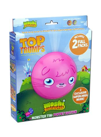View Item Top Trumps - Moshi Monster Tin: Poppet Edition