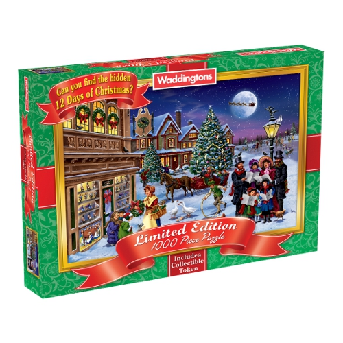 Waddingtons Christmas Jigsaw Puzzle (1000 piece) - 2010 Edition Enlarged Preview