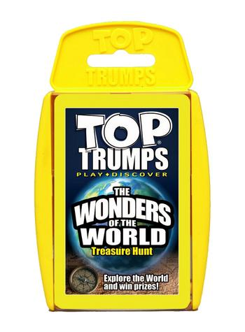 View Item Top Trumps - The Wonders of the World