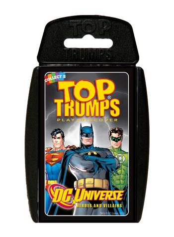 Top Trumps - DC Universe Preview