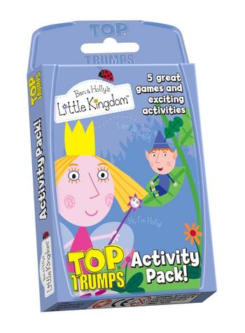 View Item Top Trumps - Ben & Holly's Little Kingdom Activity Pack