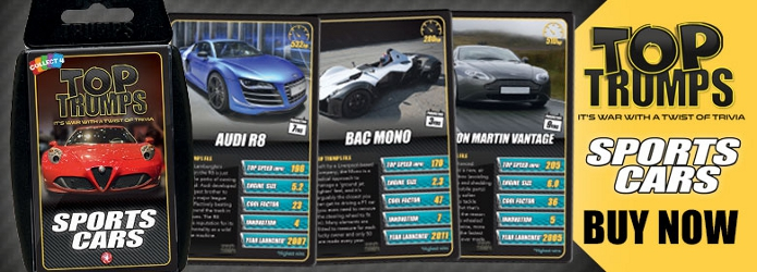 Sport Tops Images - Sports cars top trumps
