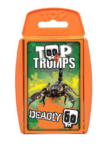 View Item Top Trumps - Deadly 60