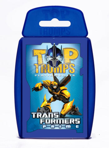 View Item Top Trumps - Transformers Prime