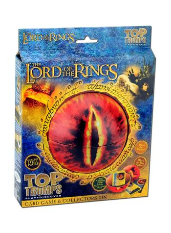 View Item Top Trumps - The Lord of the Rings Collectors Tin