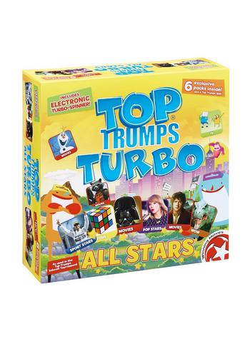 View Item Top Trumps Turbo - ALL STARS