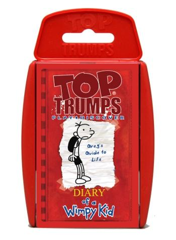 View Item Top Trumps - Diary of a Wimpy Kid