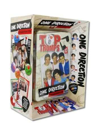 View Item Top Trumps - One Direction Collectors Tin