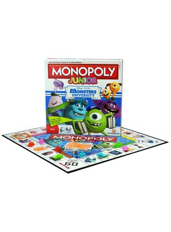 Monopoly Junior - Monsters University Preview