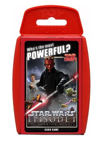View Item Top Trumps - Star Wars The Phantom Menace