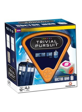 Doctor Who Trivial Pursuit Preview