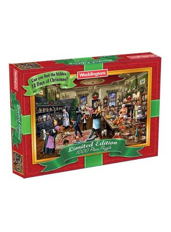 View Item Waddingtons Christmas Jigsaw Puzzle (1000 piece) - 2013 Edition