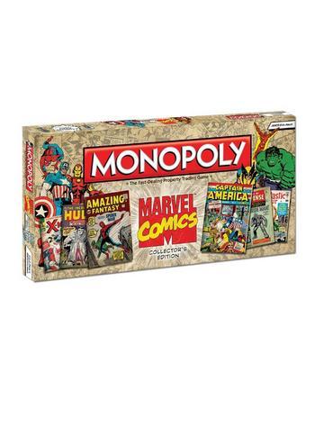 View Item Monopoly - Marvel Comics Collectors Edition