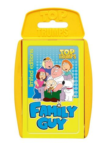 View Item Top Trumps - Family Guy