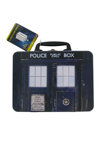 View Item Top Trumps - Doctor Who Tardis Collectors Tin