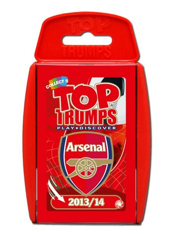 View Item Top Trumps - Arsenal FC 2013/14
