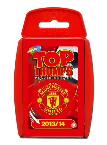 View Item Top Trumps - Manchester United FC 2013/14