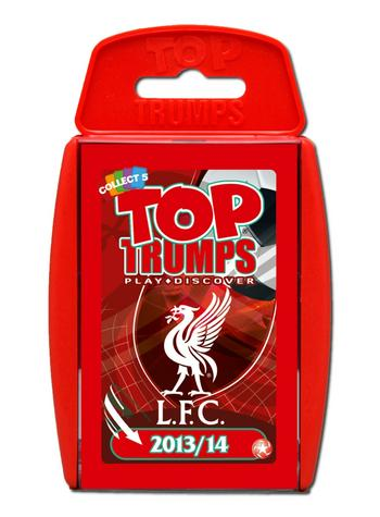 View Item Top Trumps - Liverpool FC 2013/14