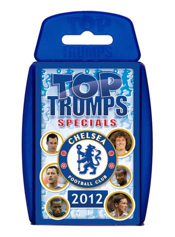 View Item Top Trumps - Chelsea FC 2012