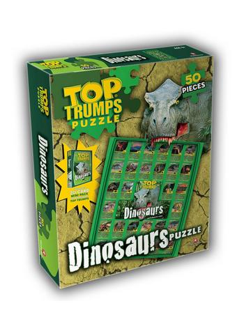 View Item Top Trumps - Dinosaurs Jigsaw Puzzle