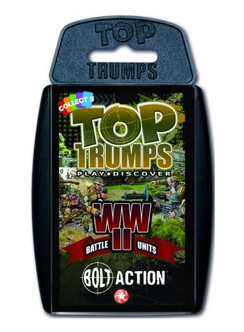 View Item Top Trumps - Bolt Action WWII Battle Units