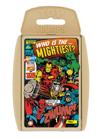 View Item Top Trumps - Marvel Comics