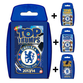 View Item Top Trumps Chelsea FC Quad Bundle