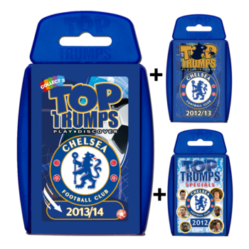 View Item Top Trumps Chelsea FC Triple Bundle