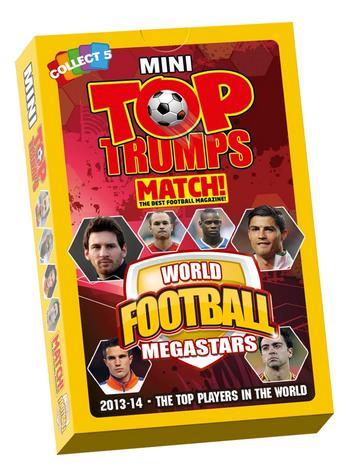 View Item Mini Top Trumps - World Football MEGASTARS 2014